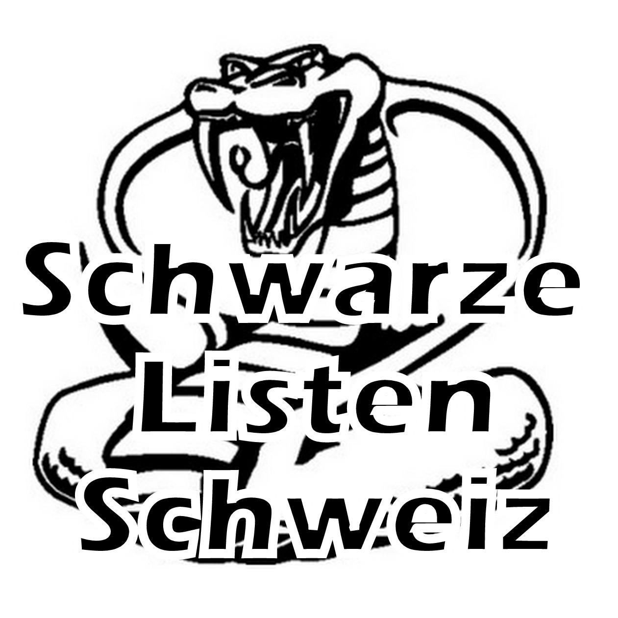 Schwarze-Listen-Schweiz